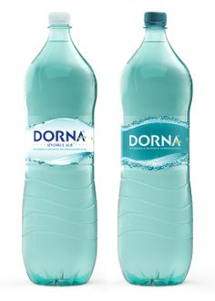 Dorna Mineral Water packaging for Coca Cola Romania