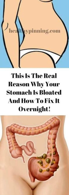 This Is The Real Reason Why Your Stomach Is Bloated And How To Fix It Overnight! - Your Health