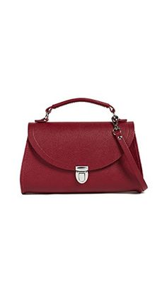 Cambridge Satchel Mini Poppy Satchel In Red Leather Satchel, Cambridge Satchel, Poppies, Dust Bag, Hand Bags, Shoulder Bags, Red, Leather Briefcase