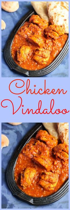 Chicken Vindaloo Chicken vindaloo,the sweet,sour and mild hot Indian curry dish, very popular in Goa.Goes well with steamed rice or appam