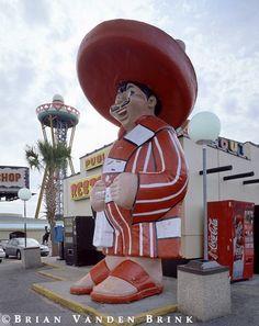 "Pedro says, ""Stop at South of the Border on I-95 at Dillon, SC!"""