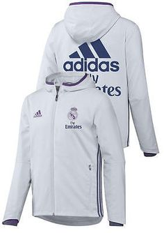 Fly Emirates Real Madrid Adidas Training Jacket Normal Presentation 2016 17  Men  497f490609f83