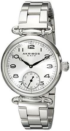 Akribos XXIV Women's AK806SS Analog Display Japanese Quartz Silver Watch Akribos XXIV http://www.amazon.com/dp/B00RCKOYK8/ref=cm_sw_r_pi_dp_AQOdvb1E8S54B
