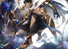 Anime Warrior, Fantasy Warrior, Anime Egyptian, Anime Guys, Manga Anime, Fate Servants, Fate Anime Series, Fate Zero, Manga Characters