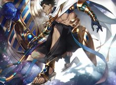 Anime Warrior, Fantasy Warrior, Anime Egyptian, Anime Guys, Manga Anime, Fate Servants, Fate Anime Series, Fate Zero, 2 Movie