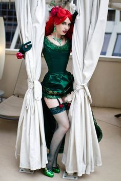 Poison Ivy (Steampunk version) | Photographer: Anna Fischer