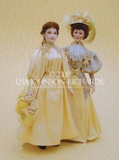 Lisa Johnson-Richards, Miniature Doll Artist & Couturiere