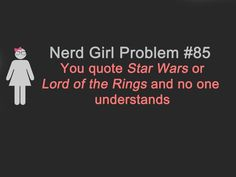 If this is your problem then you're hanging out in Alderaan places!