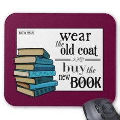By Mira at Wizzley. Some gift ideas for your writer mother on Mother's Day, including some less common custom-made gifts, wrapping paper, and various quote coffee mugs. I Love Books, New Books, Books To Read, Reading Library, Love Reading, Book Tokens, Different Quotes, Book Nooks, Quote Posters
