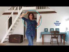 The Foldover Twist hoop tutorial - YouTube