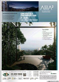 #alila2 Real Estate Advertising, Real Estate Ads, Advertising Design, Real Estate Marketing, Property Ad, Property Design, Site Design, Ad Design, Hoarding Design