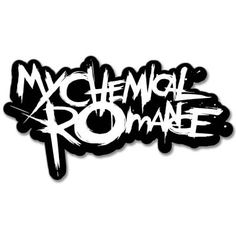 My Chemical Romance Vynil Car Sticker Decal - Select Size Band Stickers, Laptop Stickers, Bumper Stickers, Car Decals, My Melody Wallpaper, Strange Music, Band Logos, Longboarding, Emo Bands