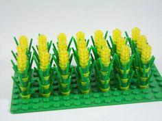 Lego Farm Field Yellow Corn Field