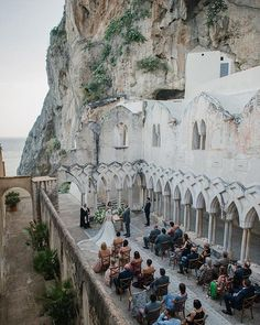 How bout getting married in the Amalfi Coast? How bout in an ancient monastery - How bout getting married in the Amalfi Coast? How bout in an ancient monastery? Destination Wedding Locations, Destination Wedding Planner, Best Wedding Venues, Italian Wedding Venues, Italian Weddings, Wedding Destinations, Wedding Ceremonies, Wedding Planning, Wedding Planner Italy