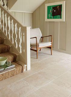 Beautiful And Natural Limestone Flooring. Beautiful And Natural Limestone Flooring. Stone Tile Flooring, Hall Flooring, Kitchen Flooring, Kitchen Tiles, Tiled Floors, Travertine Floors, Flooring Ideas, Floor Design, House Design