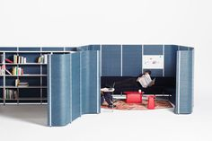 Oh, this is an awesome workspace furniture. (via vitra.com)