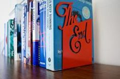 The End - Typographic Bookend – Goodwin & Goodwin™ - London Sign Makers