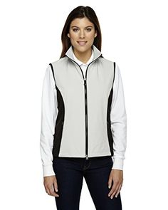 North End Womens Soft Shell Performance Vest 78050 NATRL STONE S ** You can find out more details at the link of the image.(This is an Amazon affiliate link and I receive a commission for the sales)