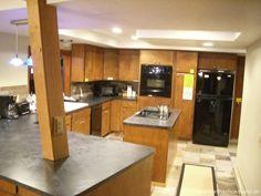 Mẫu trần thạch cao phòng bếp 09
