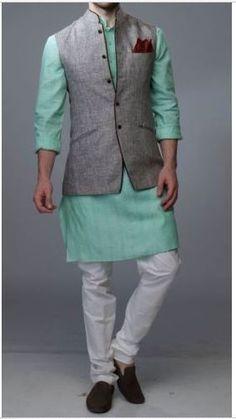 Partywear Punjab Indian Wedding Ethnic Kurta Trouser Waist Coat Nehru Jacket Men | Clothing, Shoes & Accessories, Men's Clothing, Coats & Jackets | eBay!