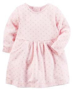 f857e2e433b Baby Girl Polka Dot Sweater Dress from Carters.com. Shop clothing  amp   accessories