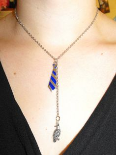 Ravenclaw house necklace, $25 on etsy