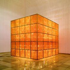 "Ai Weiwei ""Cube Light,"" 2008. Art Experience:NYC http://www.artexperiencenyc.com/social_login"