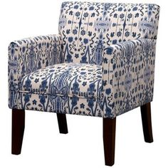 Addison Arm Chair Mumbai Blue Threshold