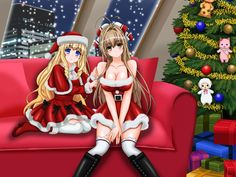 Two Christmas Cutties