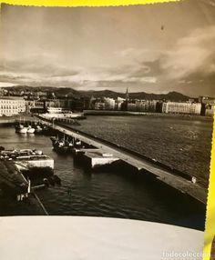 foto puerto San Sebastián vista sobre la concha mitad s XX 18X23,5CMS - Foto 1