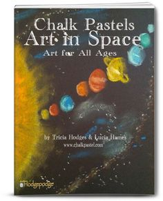 Chalk Pastels Art in Space for all ages! Expand your astronomy study with beautiful space art – planets, comets, nebulae, spiral galaxy and… Chalk Pastel Art, Chalk Pastels, Chalk Art, Link And Learn, Spiral Galaxy, Art Curriculum, Art Courses, Earth From Space, Teaching Art