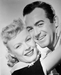"June Haver and Mark Stevens in ""Oh You Beautiful Doll"" (1949)"