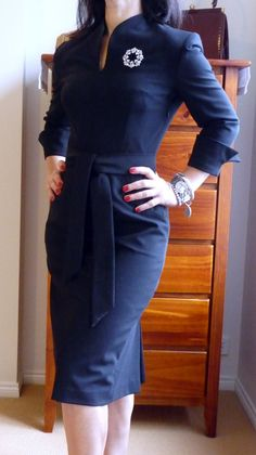1950's inspired dress from Giulianna, on Etsy. *sigh*