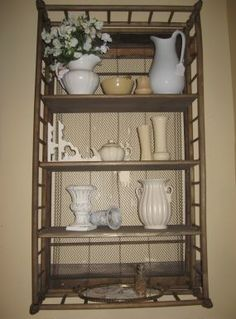 Nice shelf! (it's a crib) this is awesome!  hard to decide where to put, recycling or ppf?