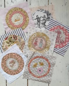 """Anna Jantina Quilts on Instagram: """"⚘..goeiemorgen lieve allemaal....het was vorig jaar toen ik met de Fleur quilt van Susan Smith begon....bij de Quiltster in Zeeland heb ik…"""" Circle Quilts, Hexagon Quilt, Quilt Blocks, Patchwork Fabric, Fabric Scraps, Susan Smith, Applique Quilts, Quilt Tutorials, Applique Designs"""