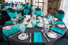 Black & teal wedding- Ottawa Wedding www.rsvp-events.ca