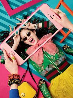 Vogue China April 2016, Hyun Ji Shin
