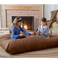 Activity And Rest More Comfortable With Using Floor Cushions Play