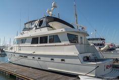 1989 70 Hatteras Cockpit Motor Yacht Power Boat For Sale - www.yachtworld.com