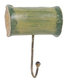 Take a look at this Green Wall Hook by Color Trend: Gorgeous Green on #zulily today!