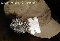 Nebraska Cornhusker military hat