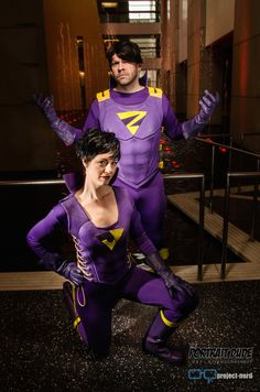 Epic Wonder Twins Cosplay - Project-Nerd