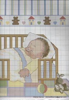 Punto de cruz bebé