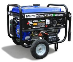 The Duromax XP4400EH has a dual fuel system that operates on either standard gasoline or cleaner burning liquid propane which can more than double you generator's run time. With the XP4400EH operatin...