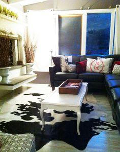 family room by shelly kennedy/drooz studio, via Flickr