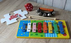 Wooden Music Set BigJigs #PlayPatrol