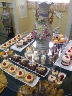 Una barra de postres dulces para deleitar el paladar de tus invitados