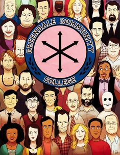 "The Greendale ecosystem | The 101 Best Pieces Of ""Community"" Fan Art"