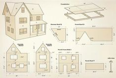 Dollhouse Canadian Woodworking Magazine Blueprints For Dollhouses Canadian Woodworking, Woodworking Plans, Woodworking Classes, Woodworking Projects, Woodworking Equipment, Woodworking Jointer, Unique Woodworking, Youtube Woodworking, Woodworking Store