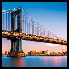 Find Manhattan Bridge Illuminated Dusk Very Long stock images in HD and millions of other royalty-free stock photos, illustrations and vectors in the Shutterstock collection. Thousands of new, high-quality pictures added every day. Nyc Skyline, New York City Skyline, Bridge Wallpaper, New York Wallpaper, Manhattan Bridge, Brooklyn Bridge, Ville New York, Nova, Golden Gate Bridge